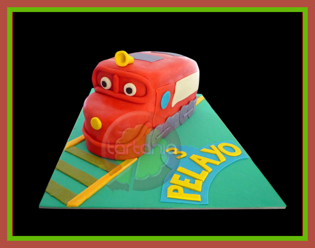 Tarta Chuggington
